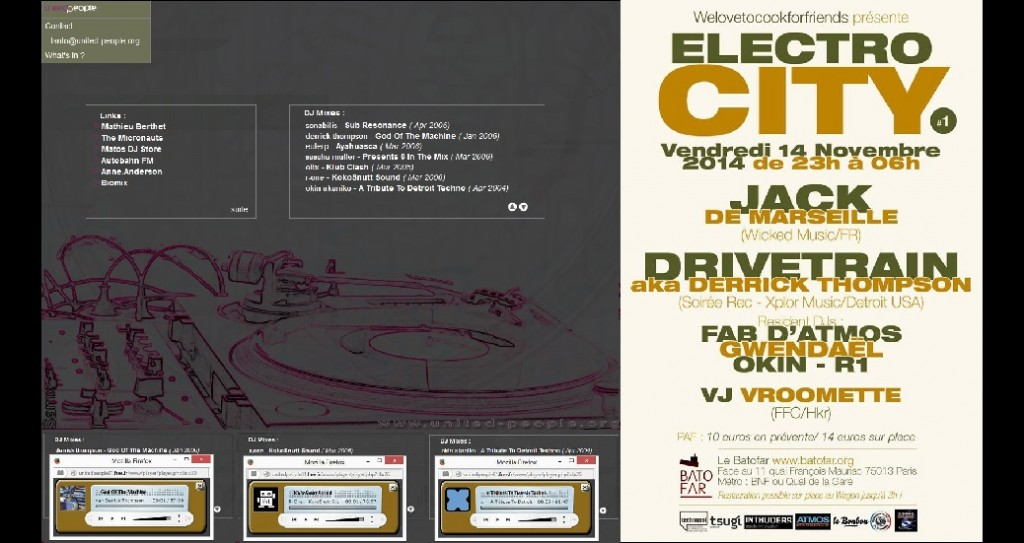 United People - Electrocity - Intruders